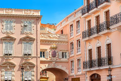 Architettura del Monaco-Ville Immagini Stock