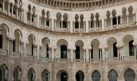 Architettura del Moorish in Malesia immagini stock