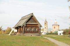Architettura del museo in Suzdal' Fotografie Stock