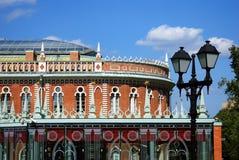 Architettura del parco di Tsaritsyno a Mosca Immagine Stock Libera da Diritti