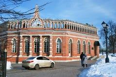 Architettura del parco di Tsaritsyno a Mosca Foto a colori Fotografie Stock Libere da Diritti