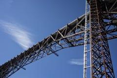 Architettura del ponte Fotografie Stock
