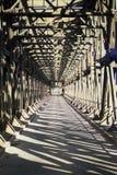 Architettura del ponte del ferro fotografie stock
