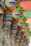 Architettura del tempio di Annamalaiyar in Tiruvannamalai, India Immagine Stock