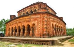 Architettura del tempio di Navaratna del Sirajganj del XVII secolo Bangladesh fotografia stock