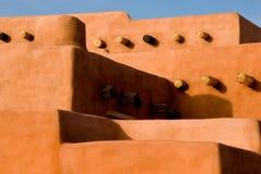 Architettura dell'adobe di sud-ovest Immagini Stock Libere da Diritti
