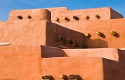 Architettura dell'adobe di sud-ovest Fotografie Stock