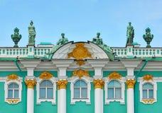 Architettura dell'eremo russo Immagine Stock