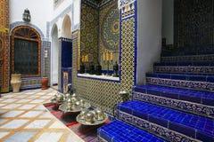 Architettura dell'interno marocchina Immagine Stock