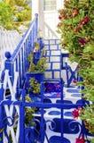Architettura dell'isola di Mykonos, Grecia Fotografie Stock Libere da Diritti