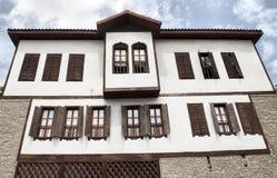 Architettura dell'ottomano/case di Safranbolu Fotografia Stock