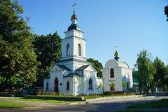 Architettura dell'Ucraina Città di Poltava immagine stock