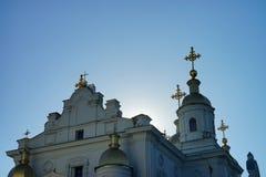 Architettura dell'Ucraina Città di Poltava fotografie stock