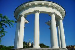 Architettura dell'Ucraina Città di Poltava immagine stock libera da diritti