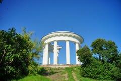 Architettura dell'Ucraina Città di Poltava immagini stock