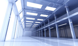 Architettura dell'ufficio Immagini Stock