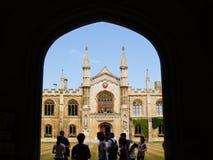 Architettura dell'Università di Oxford. Immagini Stock Libere da Diritti