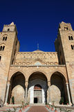 Architettura della cattedrale di Cefalu; La Sicilia Fotografie Stock