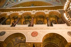 Architettura della cattedrale di Kronštadt Immagine Stock