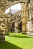 Architettura della cattedrale di Lincoln Immagine Stock