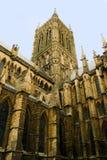 Architettura della cattedrale di Lincoln Fotografia Stock Libera da Diritti
