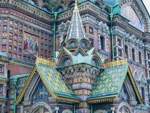 architettura della cattedrale il salvatore su sangue Fotografie Stock Libere da Diritti