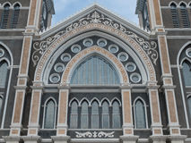 Architettura della chiesa più bella in Tailandia Fotografia Stock Libera da Diritti