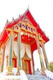 Architettura della chiesa tailandese del tempiale Immagini Stock