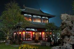 Architettura della Cina in Tailandia Fotografia Stock Libera da Diritti