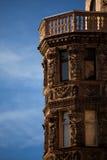 Architettura della città Fotografie Stock