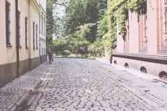 Architettura della città della Polonia Wroclaw Fotografia Stock