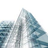 Architettura della costruzione Fotografie Stock Libere da Diritti