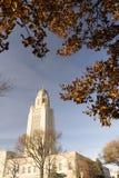 Architettura della cupola di Lincoln Nebraska Capital Building Government Fotografie Stock