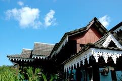 Architettura della Malesia fotografie stock
