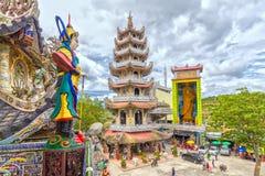 Architettura della pagoda di bellezza Fotografie Stock