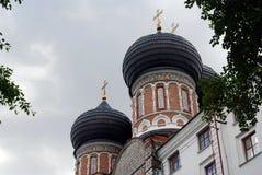 Architettura della proprietà terriera di Izmailovo a Mosca Cattedrale di Intercession Immagine Stock Libera da Diritti