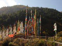 Architettura della tribù di minoranza etnica di Qiang Immagine Stock