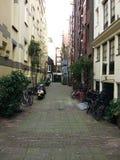 Architettura della via di Amsterdam fotografia stock