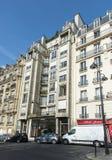 Architettura della via di Parigi Immagine Stock Libera da Diritti