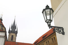 Architettura di vecchia Praga Fotografia Stock Libera da Diritti