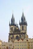 Architettura di vecchia Praga Immagini Stock Libere da Diritti