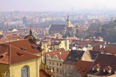 Tipo di vecchia Praga Fotografia Stock