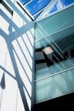 Architettura Dentro di una costruzione Ombre ed indicatore luminoso immagine stock libera da diritti
