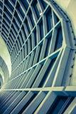 Architettura dentro l'aeroporto nello stile astratto Fotografia Stock Libera da Diritti