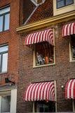 Architettura di Amsterdam, Paesi Bassi Immagini Stock Libere da Diritti