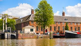 Architettura di Amsterdam, Paesi Bassi Immagine Stock
