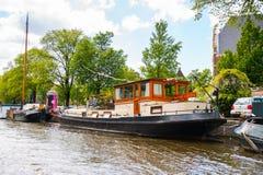 Architettura di Amsterdam, Paesi Bassi Fotografie Stock Libere da Diritti