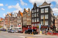 Architettura di Amsterdam, Paesi Bassi Immagini Stock