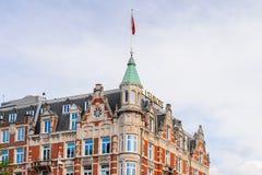Architettura di Amsterdam, Paesi Bassi Fotografia Stock Libera da Diritti