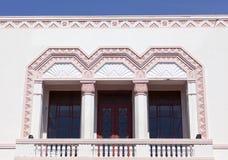 Architettura di art deco Fotografia Stock Libera da Diritti